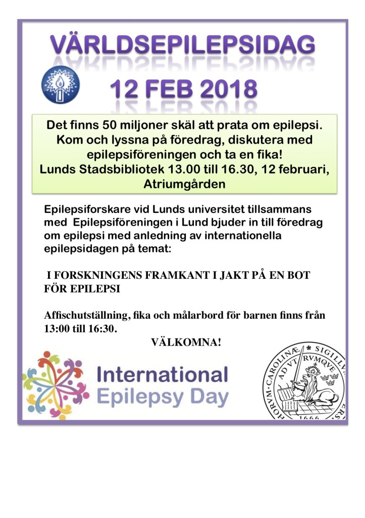 Internationella Epilepsidagen 2018v1